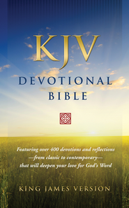 KJV Devotional Bible - Hardcover  - Slightly Imperfect  -