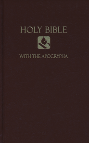 NRSV Pew Bible with Apocrypha, Hardcover, Brown  -