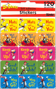 Cat in the Hat Success Stickers   -