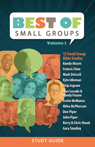 The Best of Small Groups Volume 1: Study Guide   -