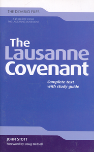 The Lausanne Covenant: Complete Text with Study Guide   -     By: John Stott
