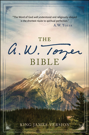 The A. W. Tozer Bible: KJV Version, hardcover  thumb-indexed  -