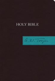 The A. W. Tozer Bible: KJV Version, Flexisoft leather brown/teal thumb-indexed  -