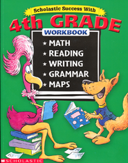 Scholastic Success With: 4th Grade Workbook (Bind-Up)  -