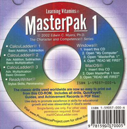 MasterPak 1 on CD-ROM   -     By: Edwin C. Myers
