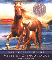 Misty of Chincoteague, Audiobook CD  -              By: Marguerite Henry
