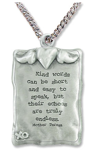Kind Words Can Be Short Necklace  -