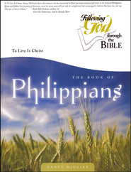 Philippians: To Live is Christ  -              By: Nancy McGuirk