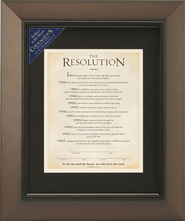 The Resolution Framed Print, Courageous Movie  -