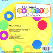 Learning Palette Vowels  -