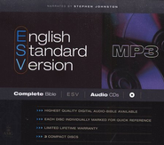 ESV Complete Bible on MP3 CDs  -     By: Stephen Johnston