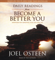 Daily Readings from Become a Better You, CD  -     By: Joel Osteen