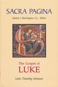 The Gospel of Luke: Sacra Pagina [SP]  - Slightly Imperfect  -     By: Luke Timothy Johnson