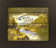 Cast Your Cares Upon Him Framed Print  -