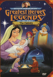 The Nativity,  Greatest Heroes and Legends of the Bible DVD  -