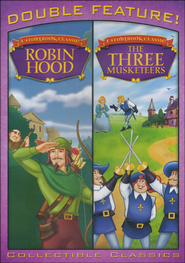 Robin Hood/The Three Musketeers, Double Feature DVD   -
