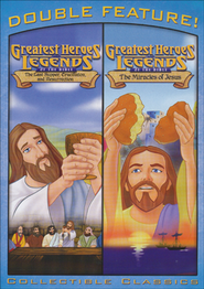 The Last Supper & The Miracles of Jesus, Double Feature DVD   -