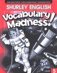 Shurley English Vocabulary Madness! Level 5   -