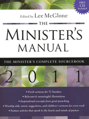 The Minister's Manual, 2011 Edition with CD-ROM   -     By: Lee R. McGlone