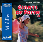 Giants of Faith Middler (Grades 3-4) Audio CD   -