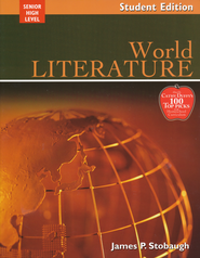 World Literature Student Book  -              By: James P. Stobaugh