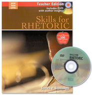 Skills for Rhetoric Teacher Edition with DVD  -     By: James P. Stobaugh