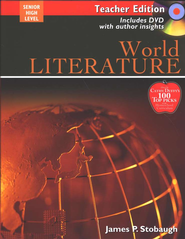 World Literature Teacher Edition with DVD  -     By: James P. Stobaugh