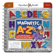 Magnetic A to Z: An Activity Book With Real Steel Pages  -