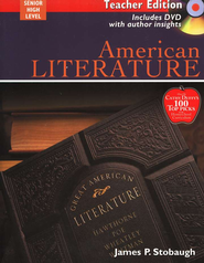 American Literature, Teacher's Edition with DVD   -     By: James P. Stobaugh