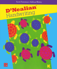 D'Nealian Handwriting Book K   -