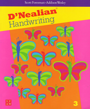 D'Nealian Handwriting Book 3  -
