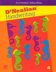 D'Nealian Handwriting Book 4  -