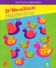 D'Nealian Handwriting Book 5  -