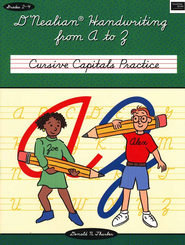 D'Nealian Handwriting from A to Z: Capital Cursive   -     By: Daniel Thurber