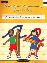 D'Nealian Handwriting from A to Z: Lowercase Cursive   -     By: Daniel Thurber
