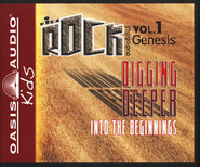 HCSB Kidz Rock Volume #1: Digging into the Beginnings Audio Bible on CD  -     By: Narrated by Kailey Bell and Todd Busteed