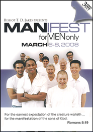 Manifest for Men Only Conference 2008 DVD - Slightly Imperfect  -              By: T.D. Jakes, Bishop Noel Jones