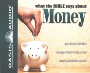 What The Bible Says About Money Audiobook on CD  -     Narrated By: Jill Shellabarger, Kelly Ryan Dolan