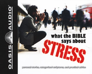 What The Bible Says About Stress Audiobook on CD  -              Narrated By: Jill Shellabarger, Kelly Ryan Dolan
