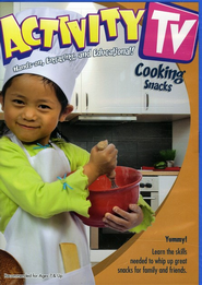 Activity TV: Cooking Snacks, DVD  -
