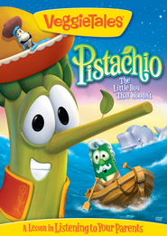 Pistachio: The Little Boy That Woodn't, VeggieTales DVD   -