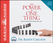 The Power of One Thing - Unabridged Audiobook on CD  -     By: Randy Carlson