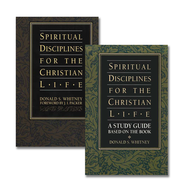 Spiritual Disciplines for the Christian Life, book & study guide  -