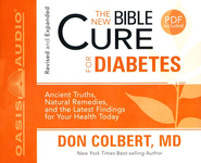 The New Bible Cure for Diabetes: Unabridged Audiobook on CD  -     By: Don Colbert