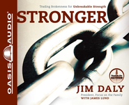 Stronger Unabridged Audiobook on CD  -     By: Jim Daly, James Lund