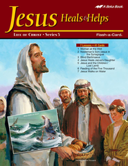 Extra Jesus heals and Helps Bible Story Lesson Guide   -