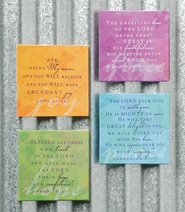 Inspirational Magnet Set, Joy, Grace, Hope, Peace   -