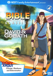 Animated Bible Classics: David and Goliath, DVD   -