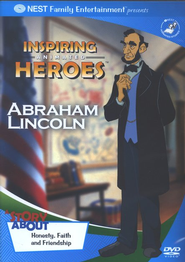 Inspiring Animated Heroes: Abraham Lincoln, DVD   -