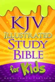 KJV Illustrated Study Bible for Kids, hardcover   -